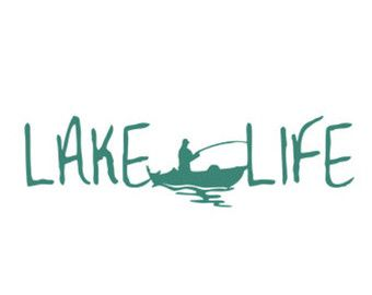 340x270 Lake Life Stencil Svg Dxf File Instant Download Silhouette Cameo