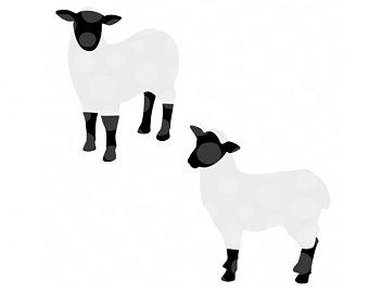 340x270 Lamb Svg File Etsy