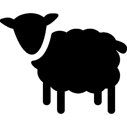 512x512 Sheep Silhouette