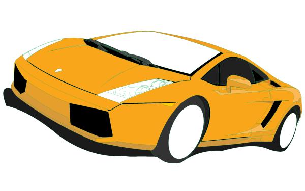 600x375 Lamborghini Gallardo Vector Image 123freevectors