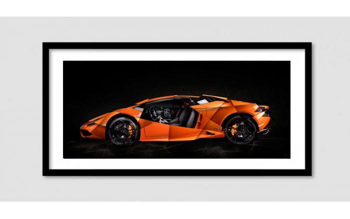 700x437 Lamborghini Huracan 2016 Art Photo Signed Amp Limited By Amaury Dubois