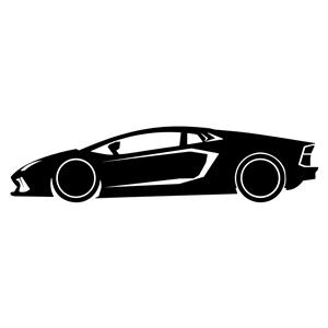 300x300 Lamborghini Silhouette Clipart, Cliparts Of Lamborghini Silhouette