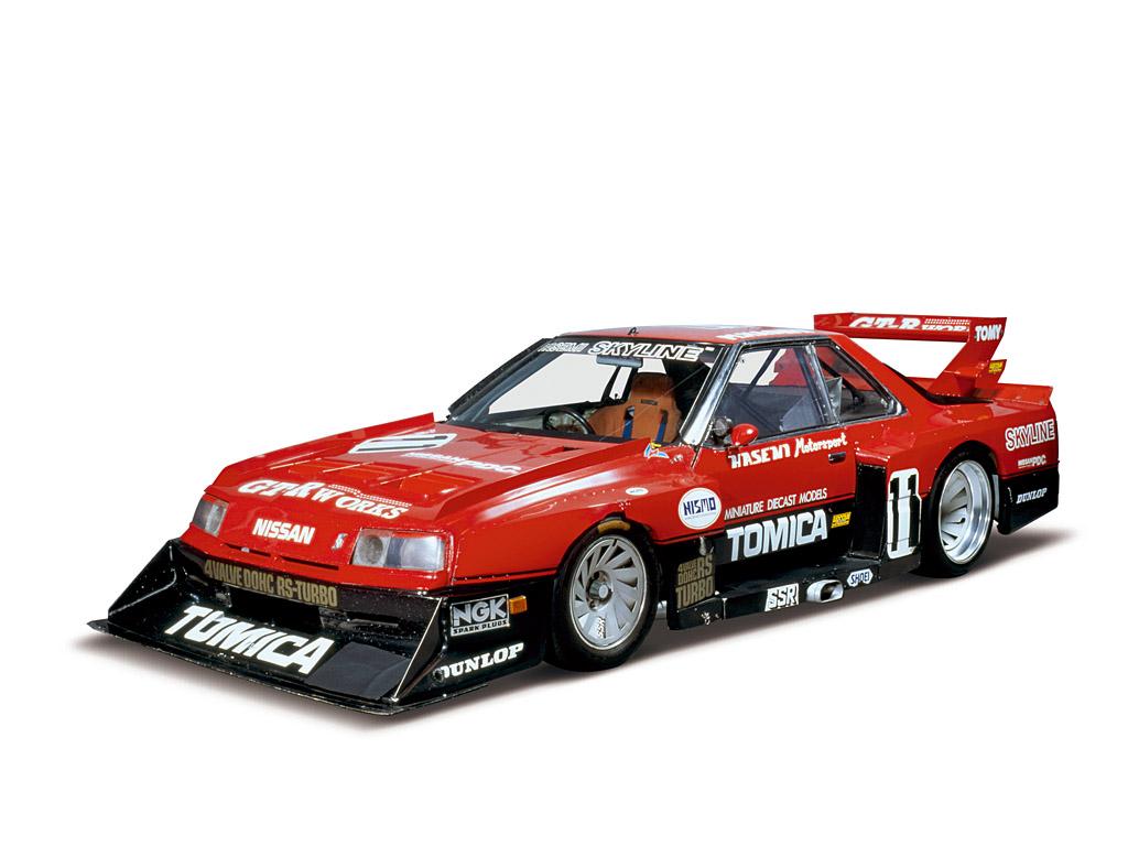 1024x768 1983 Nissan Skyline Super Silhouette