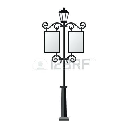 450x450 Vintage Street Lamp Vintage Street Lamp Premium Vector Vintage