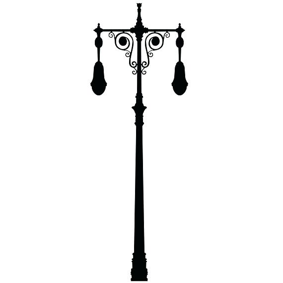 570x570 Narnia Lamp Post Silhouette Lamp Post Silhouette Bookmark By