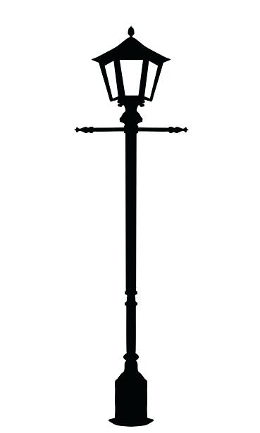 369x615 Narnia Lamp Post Silhouette Lamp Post Black And White Lamparas