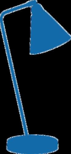 231x500 Blue Lamp Silhouette Public Domain Vectors