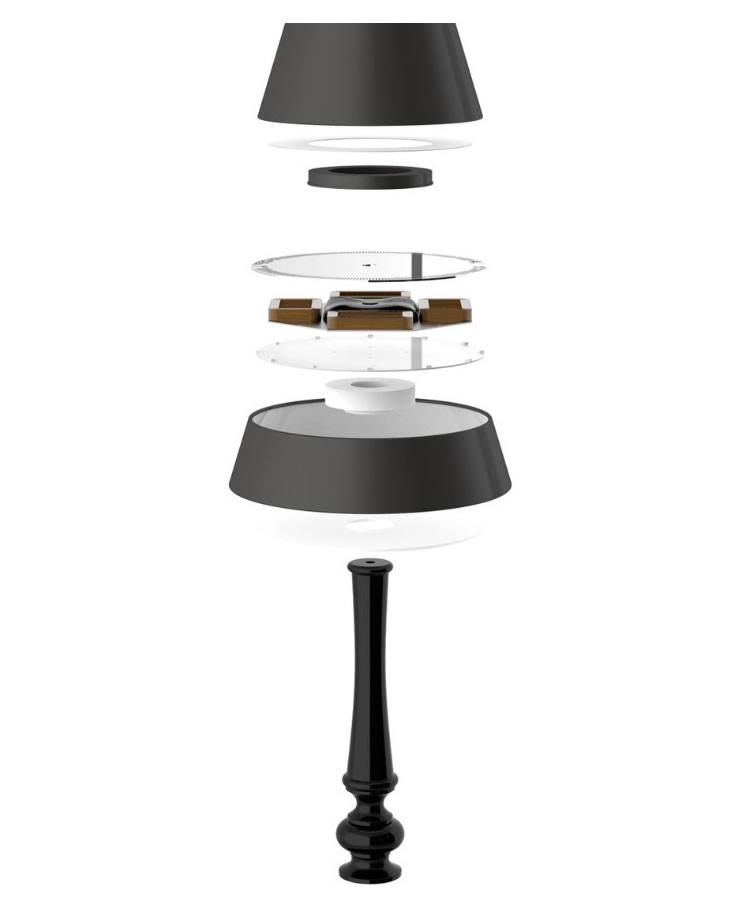 750x899 Levitating Lamp Shades Scene360
