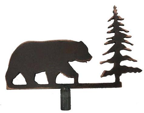 474x372 Moose R Rustic Lodge Metal Fish Bear Moose Elk Pine Tree