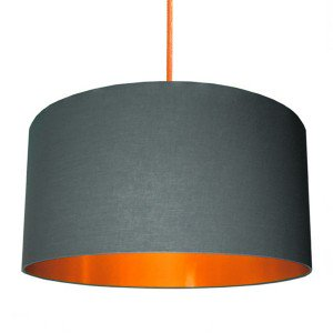 300x300 Silhouette Cotton Lampshade (Sanderson Dandelion Clocks)