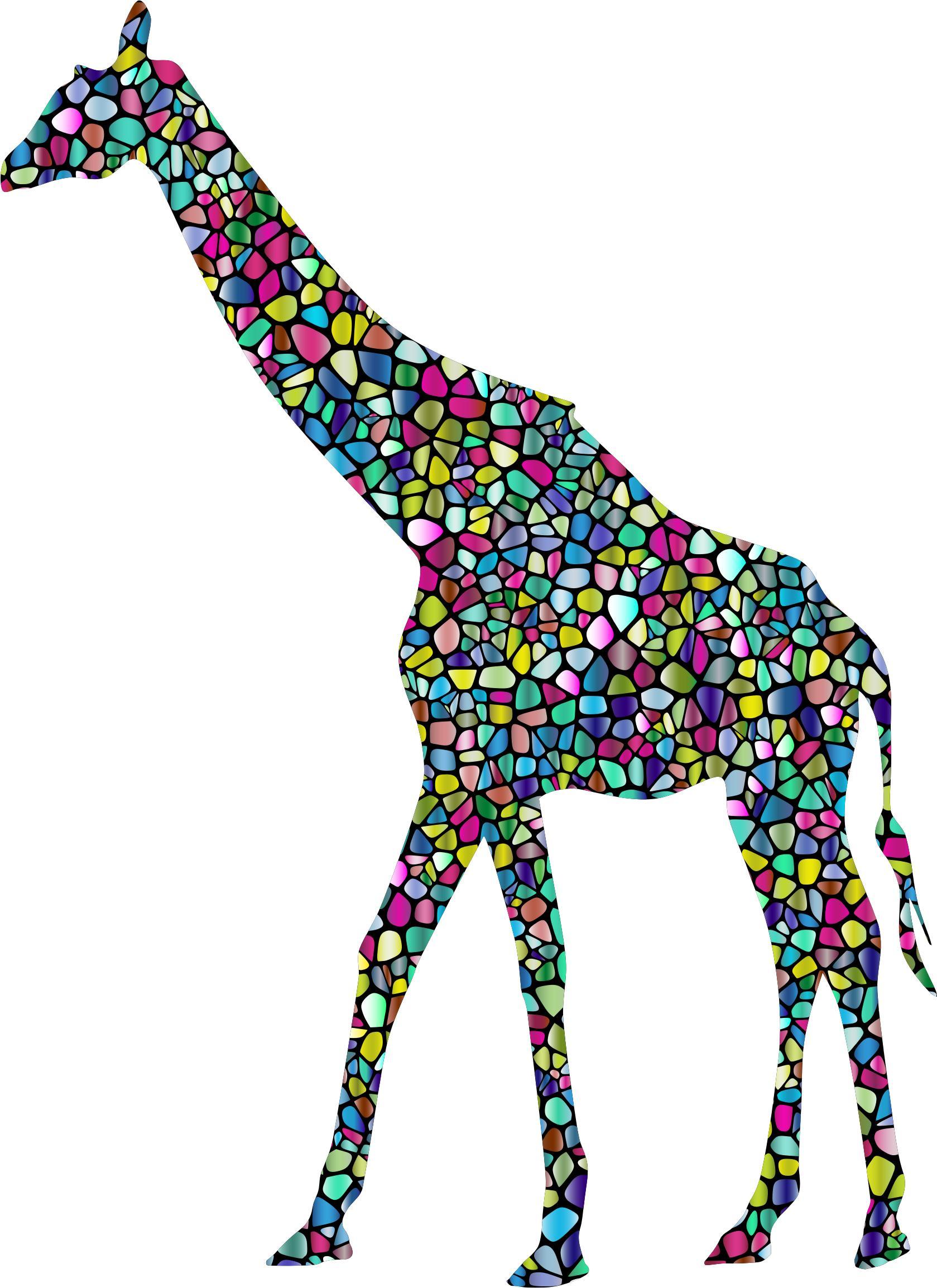 1679x2308 Polyprismatic Tiled Giraffe Landscape Silhouette Minus Landscape