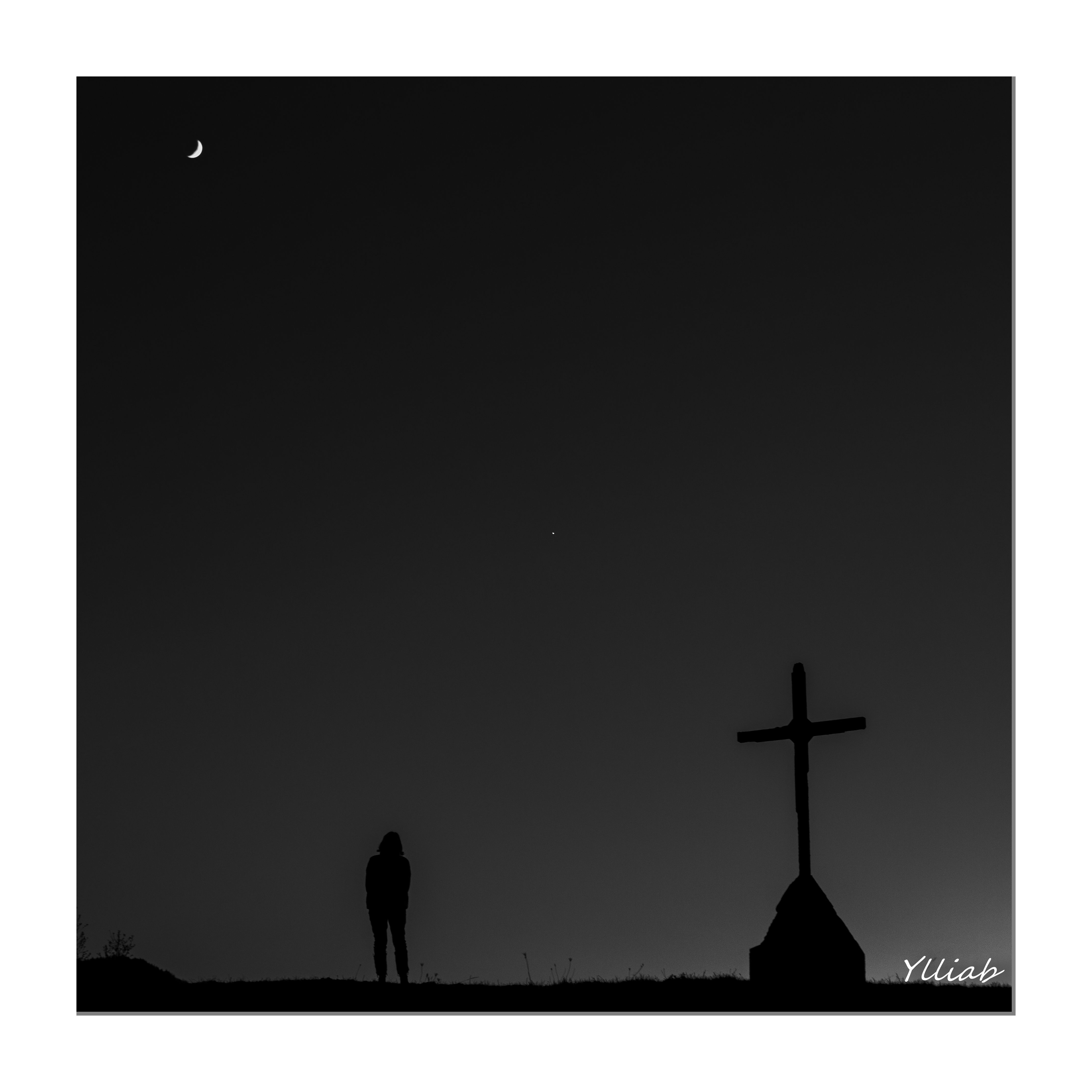 4286x4286 Free Images landscape, silhouette, black and white, france