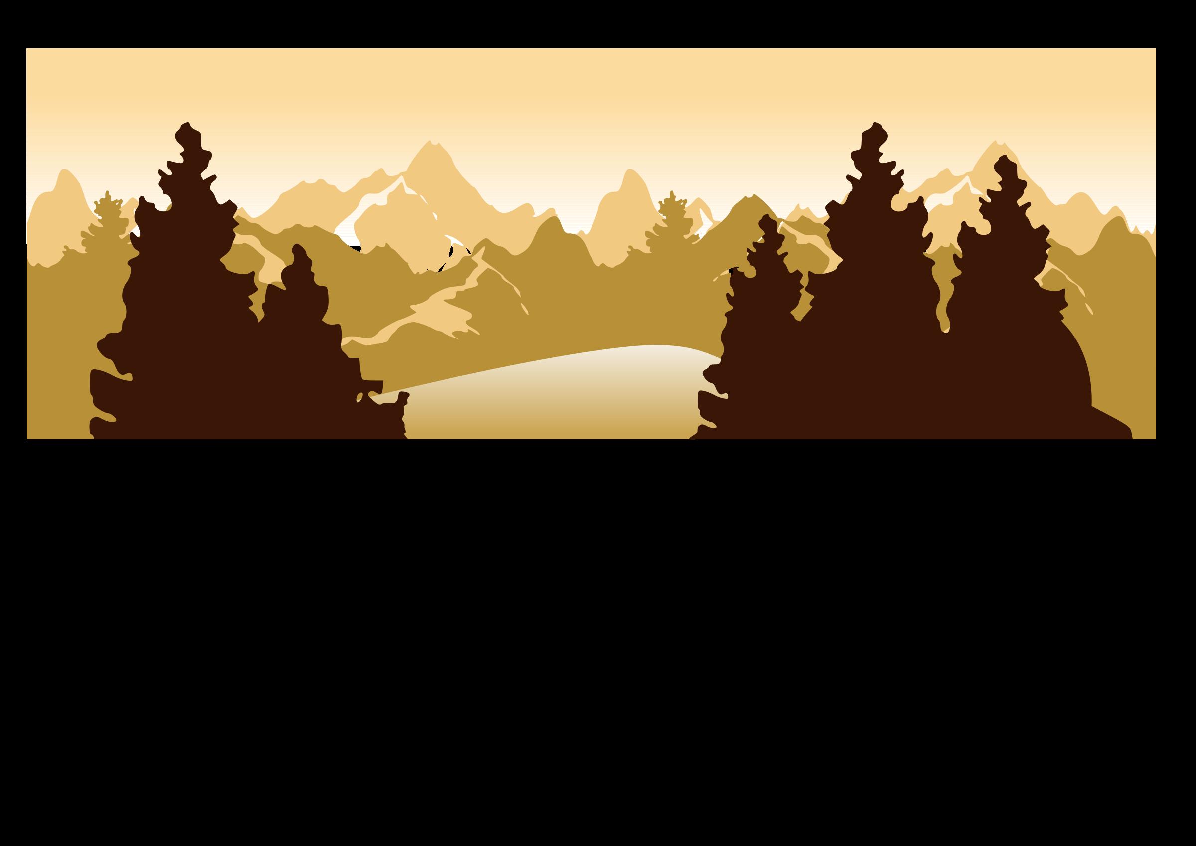 2400x1697 Landscape Clipart Mountain View