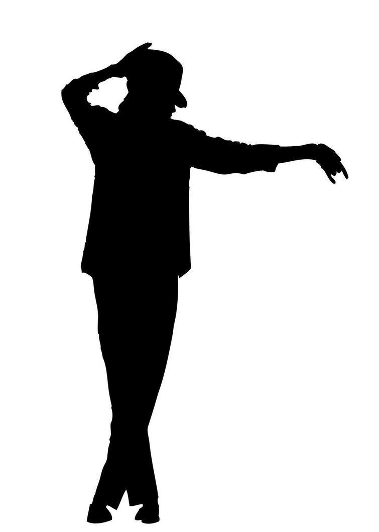 755x1059 Michael Jackson Silhouette Clip Art