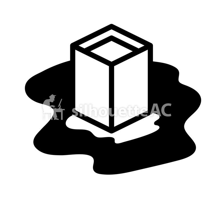750x750 Free Silhouette Vector Obon Tray, Elephant