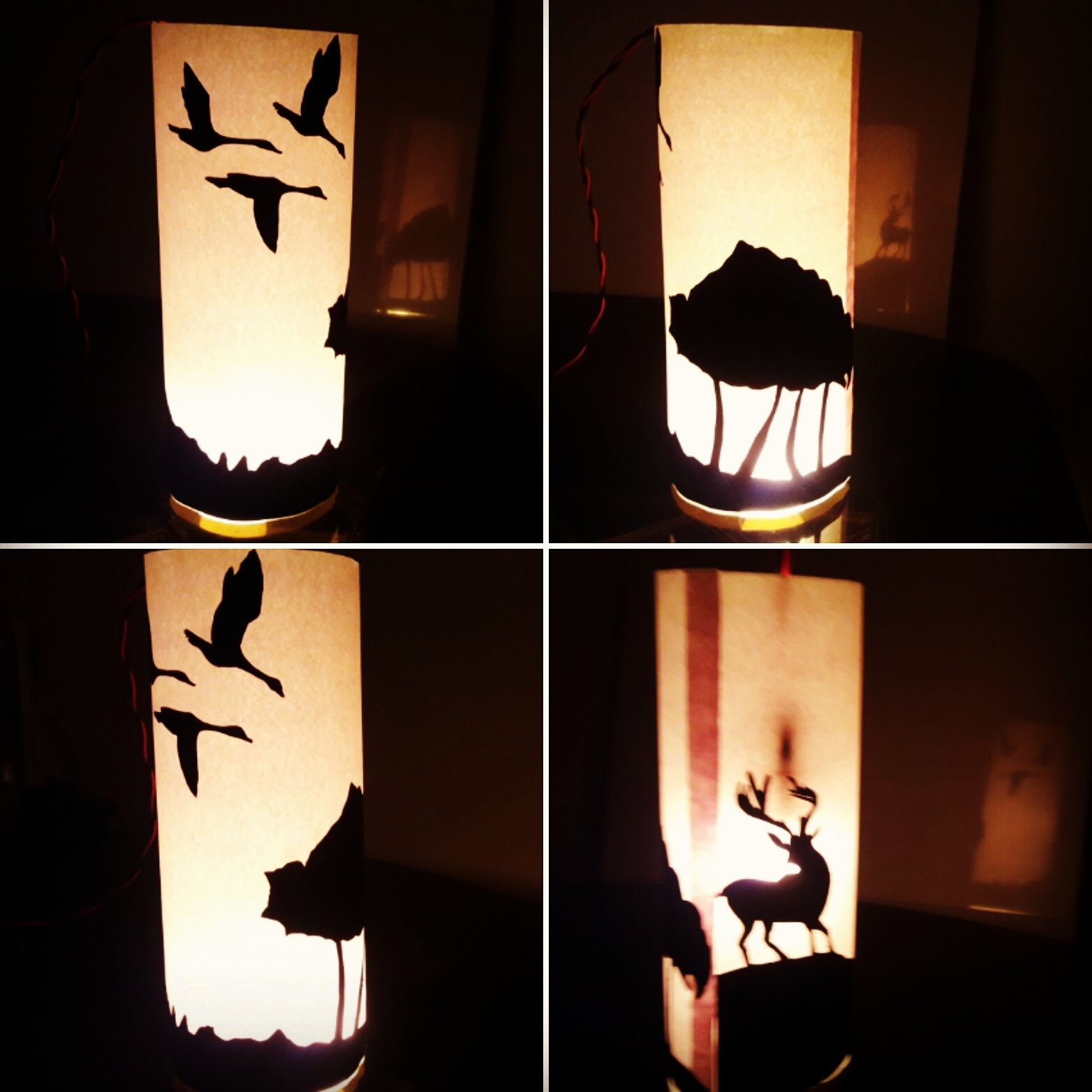 1564x1564 Making Silhouette Lampshade Chalo Ghar Sajaayen