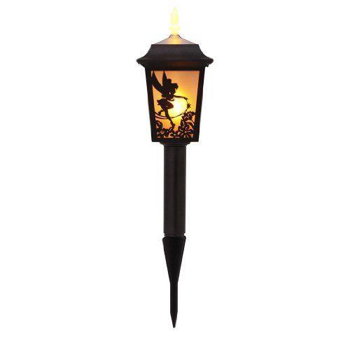 500x500 Disney Tinker Bell Solar Lantern Silhouette Garden Light Wireless