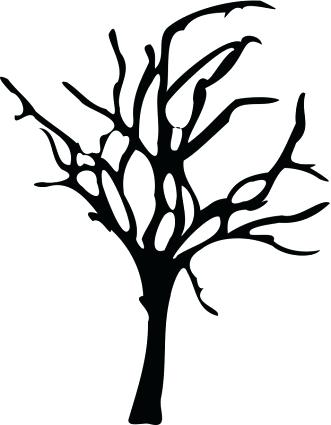 photograph relating to Free Printable Tree Templates identify Substantial Tree Silhouette at  No cost for individual