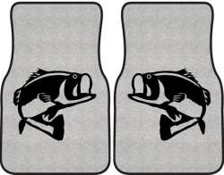 250x196 Bass Car And Truck Floor Mats