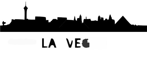 600x265 Vegas Skyline Clip Art
