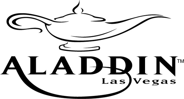 600x323 Aladdin Las Vegas Free Vector In Encapsulated Postscript Eps