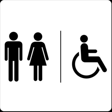 367x368 Toilet Sign Free Vector Download (7,121 Free Vector)