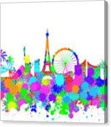 163x186 Las Vegas Skyline Silhouette V Digital Art By Ricky Barnard