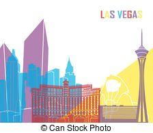 224x194 Las Vegas Skyline Stock Illustration Images. 145 Las Vegas Skyline