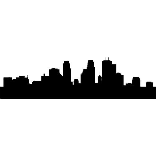 501x501 Free Philadelphia Skyline Outline, Hanslodge Clip Art Collection