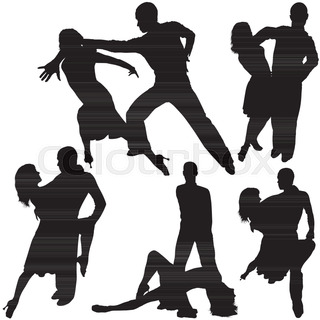Latin Dance Silhouette