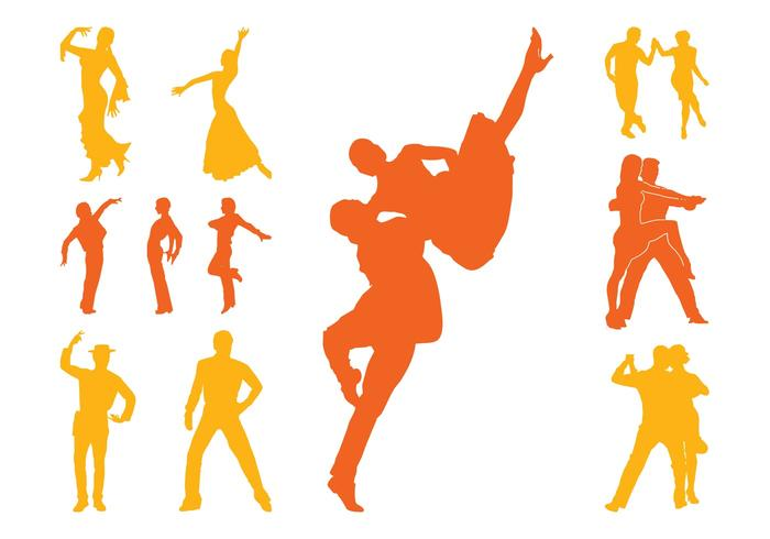 700x490 Latin Dancers Silhouettes