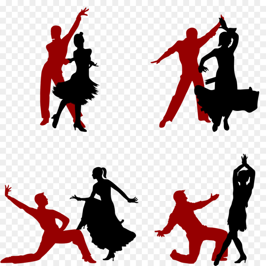 900x900 Latin Dance Silhouette Ballet
