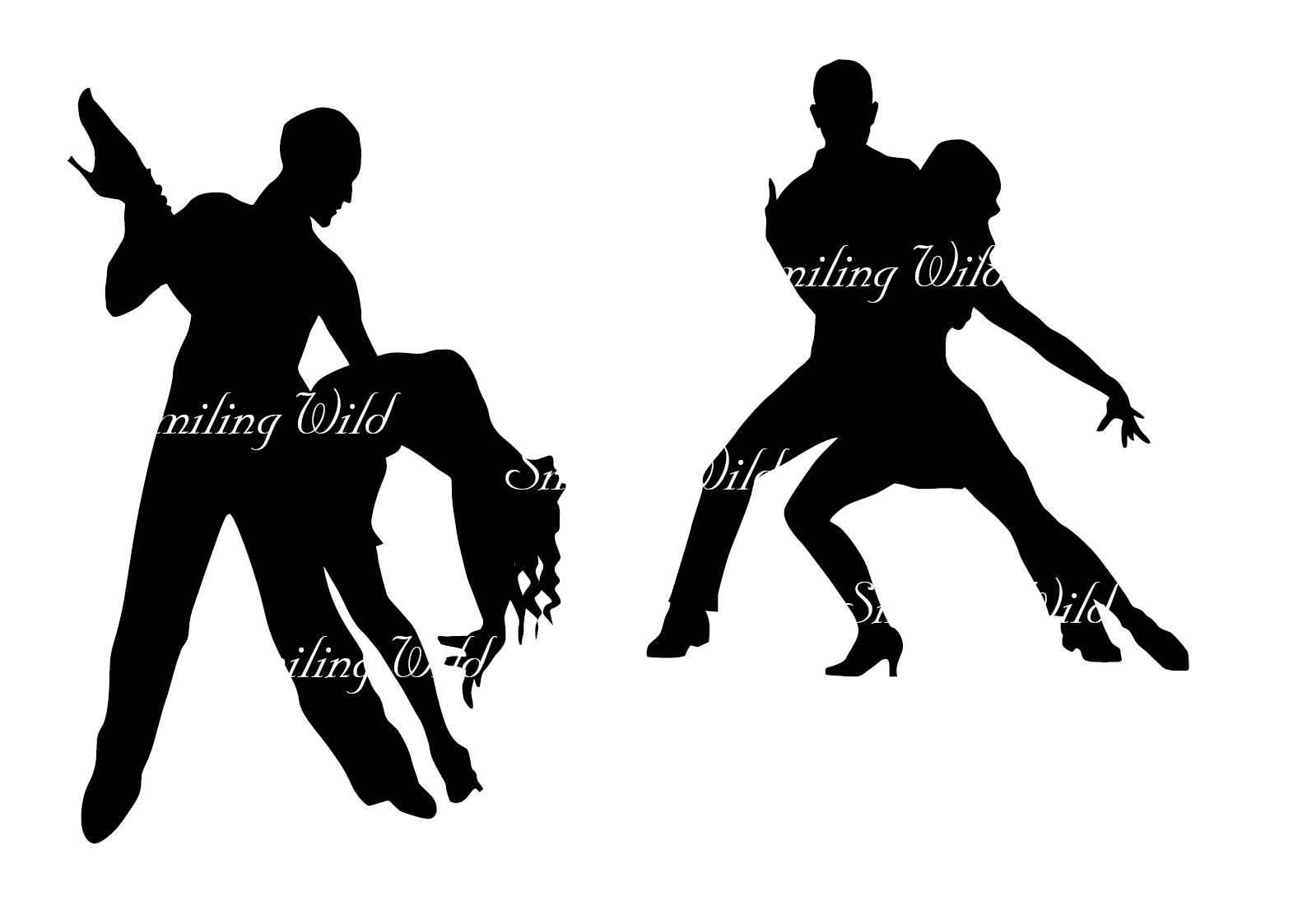 1588x1123 Salsa Dance Svg Latin Dance Silhouette Cut Out File Clipart