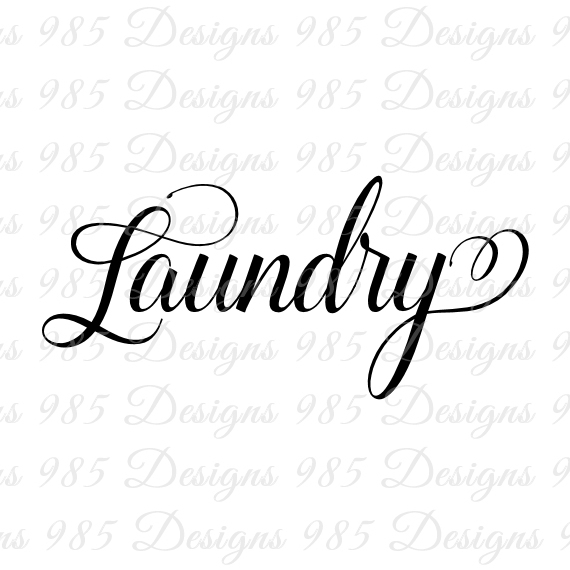 570x570 Laundry Word Svg For Cricut And By 985 Graphic Designs On Zibbet