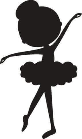 286x482 Bailarina 3 Plastyka Ballerina, Silhouette