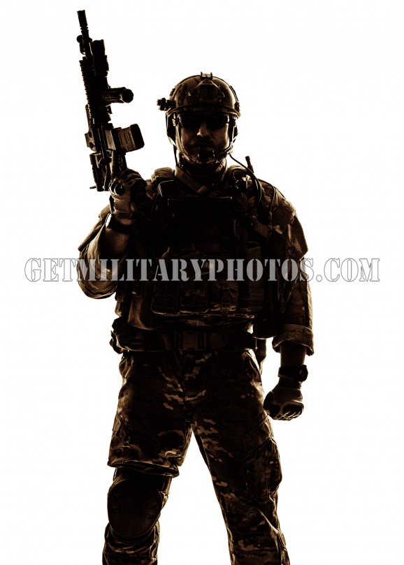578x809 Silhouette Of Soldier
