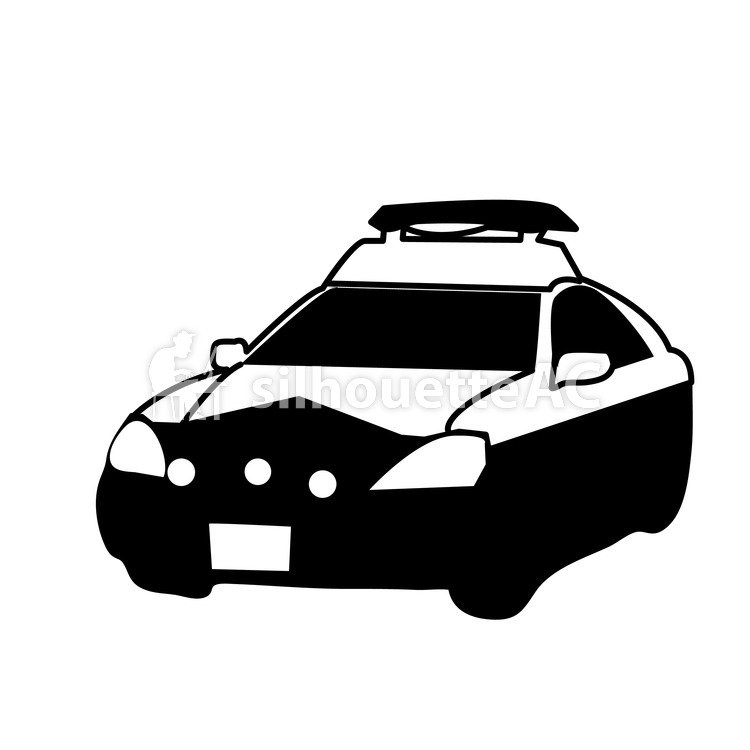 750x750 Free Silhouettes Car, Police, Policeman