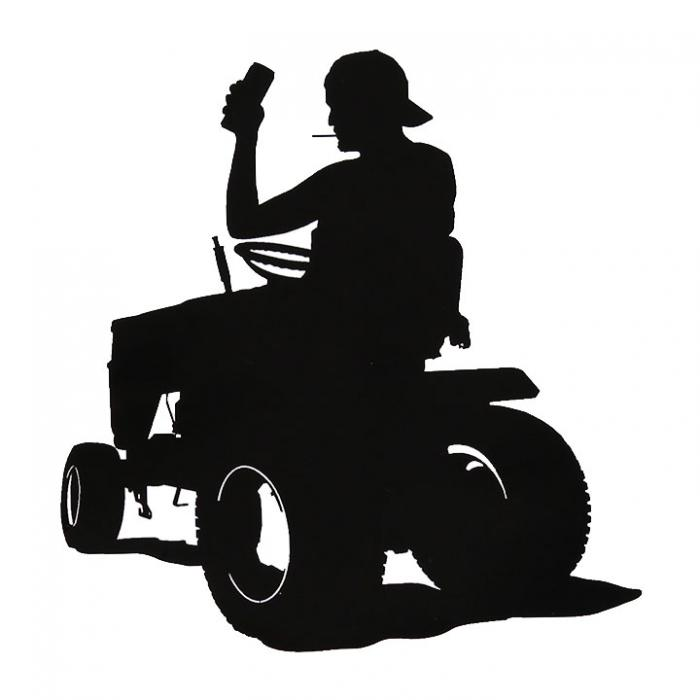 700x700 I Know My Rights Logo Sticker Steve (The Dui Lawn Mower Guy)