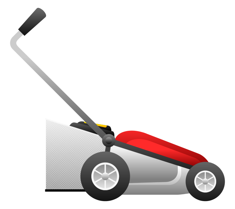 800x711 Lawn Mower Lawn Mowing Silhouettes Clipart Clipart Kid