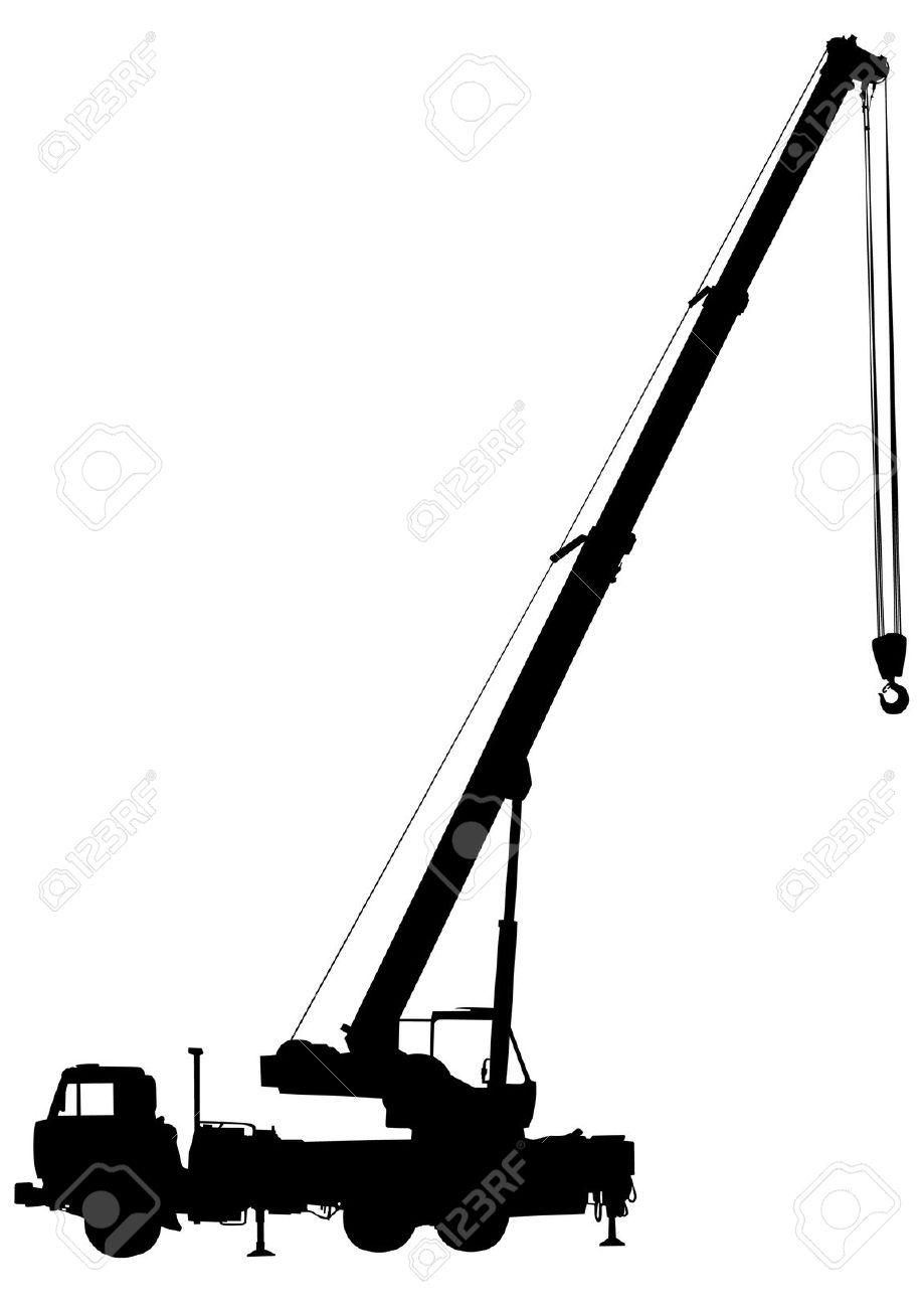 919x1300 Crane Clipart Silhouette