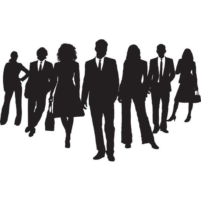 660x660 Group People Silhouette Clipart