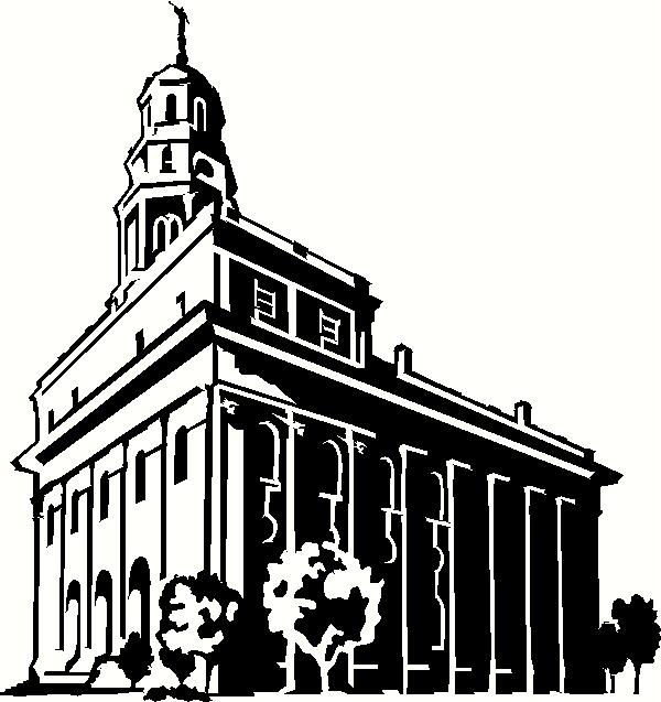 Salt Lake Temple Clipart Simple