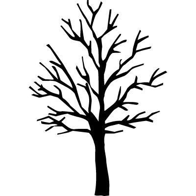400x400 Baum Silhouette