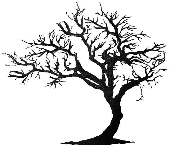 661x574 Amazing Black Tree Of Life Tattoo Design Art Of Colour Water