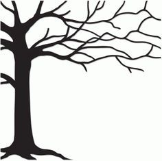 236x235 Silhouette Design Tree
