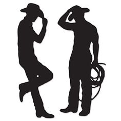 236x236 Leaning Cowboy Shadow Woodcraft Pattern Everyone Will Do A Double