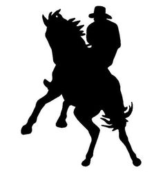 236x249 Cowboy Silhouette Clip Art Life Size Leaning Cowboys Amp Cowgirls
