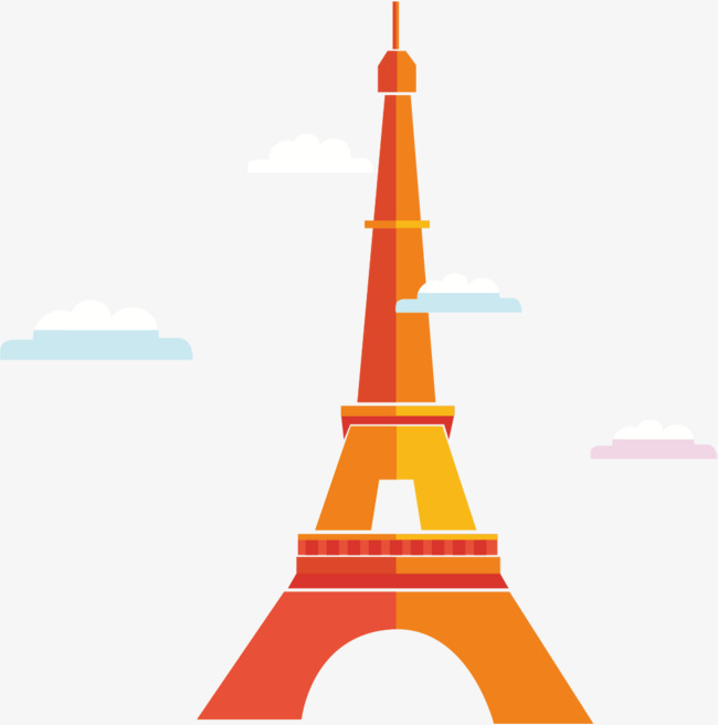 650x656 Color Tower, Eiffel Tower, Silhouette, Eiffel Tower Png And Vector
