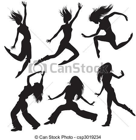 450x466 Dancer Silhouette Clip Art Leap