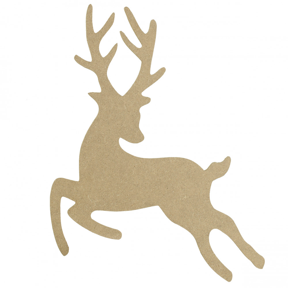 Leaping Deer Silhouette